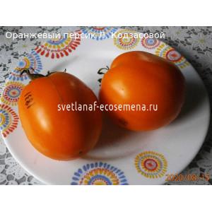 Оранжевый персик